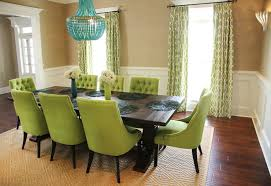 Green Dining Room Green Dining Chairs Contemporary Dining Room Colordrunk Design