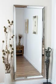 Frameless Bathroom Mirror Bathrooms Design Beveled Wall Mirror White Wall Mirror Large