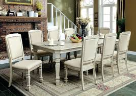 antique white dining room furniture round table set paint ntique