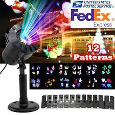 christmas motion light projector 12 pattern motion christmas landscape lights projector led spotlight