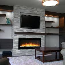 mount flat screen tv over fireplace set the television into a wall recess or