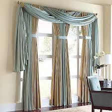 Jcpenney Window Curtain Interesting Treatment For Drapery Panels Cindy Crawford Style