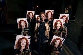 jess glynne unveils her bench clothing collection to friends in