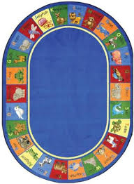 Animal Area Rugs Animal Phonics Area Rugs For Kids Learner Supply