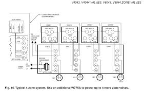 water boiler piping zone valves and wiring diagrams