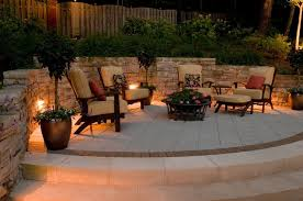 Firepit Area Outdoor Lighting Designs For Your Pit Area Outdoor Lighting