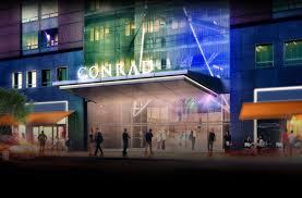 Seeking New York New Leed Seeking Conrad Hotel Brings A Rooftop Garden To Battery