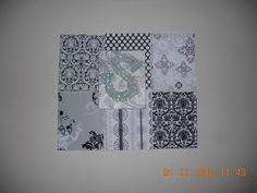 Monogrammed Scrapbook Canvas Scrapbook Paper Modgepodge Paint My Projects Pinterest