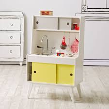 Kitchen Set Kids Wood Kitchen Set The Land Of Nod