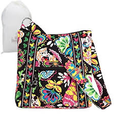 black friday handbags amazon disney vera bradley midnight with mickey hipster bag handbags