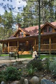log homes with wrap around porches third time s the charm a lakeside log home in minnesota