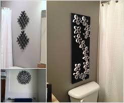 wall decorating ideas for bathrooms unique wall decor for living room your house throughout 6