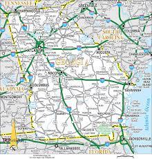 Ga Counties Map Map Of Northeast Georgia Cities Afputra Com