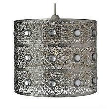 silver pendant light shade turkish moroccan hanging silver ceiling pendant light l light