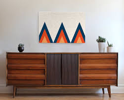 Mid Century Modern Wall Decor in Color Trends