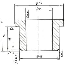 Engineering Drafting Table Basic Engineering Drawing Conventions And Abbreviations