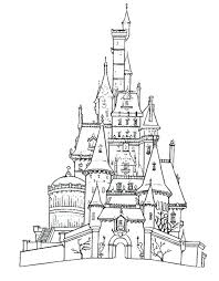 Preschool Sand Castle Coloring Page Pages Thaypiniphone Sandcastle Coloring Page