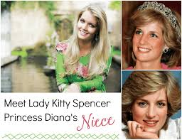 lady charlotte diana spencer meet lady kitty spencer princess diana s niece royal watchng