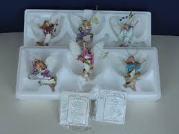 6 vintage christmas tree angel of light heirloom ornament coa