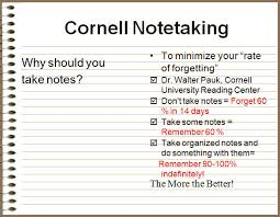 Note Sheet Template Cornell Note Taking Template Free Printable Cornell Notes Graphic