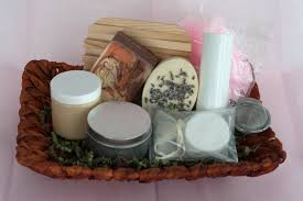Bath Gift Basket Filled Gift Baskets 5280 Naturals 100 Natural Made With