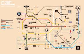 car magazine releases updated and detailed subway map of the auto