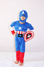 2017 royalblue 3 7years party kids comic marvel captain america