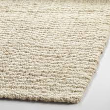 ivory rugs bleached ivory basket weave jute rug world market