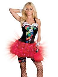 vegas lady costume that lights up scary halloween stuff