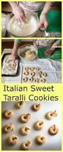 sweet taralli cookies recipe wine italian cookies and