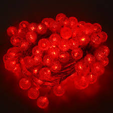 Red Heart Fairy Lights by Aliexpress Com Buy 10m 100 Led String Fairy Light Pebble Crystal