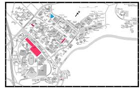 Map Of Hawaii And United States by University Of Hawaii Parking Map Honolulu Hawaii United States