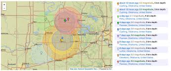 United States Earthquake Map by Frackers Knew Fossil Fuel Industry Has Known Since 1967 That