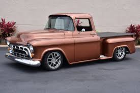 chevy truck with corvette engine used 1957 chevrolet up 5 7l ls1 corvette engine automatic a c