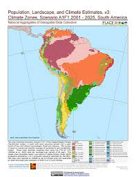 Latin And South America Map by Map Gallery Sedac