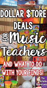 dollar store deals for music teachers music teachers dollar