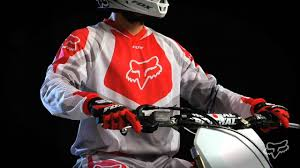fox racing motocross gear 2013 fox racing hc race vented motocross jersey review youtube