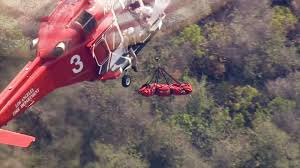 Office Furniture In Los Angeles Ca Injured Hiker Hoisted To Safety In Pacific Palisades Abc7 Com