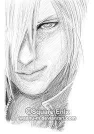 ffvii ac kadaaj face sketch by washu m on deviantart