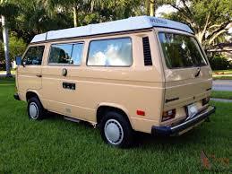 volkswagen vanagon 79 volkswagen vanagon westfalia campmobile van camper 3 door 1 9l