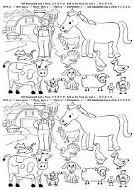 121 free esl farm animals worksheets