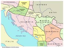 Balkans Map Map Of The Roman Balkans C 350 Bc Croatia Pinterest