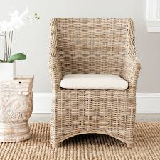 woven dining room chairs with arms seats chair cushions seagrass