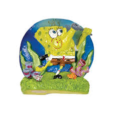 penn plax spongebob mini resin aquarium ornament hayneedle