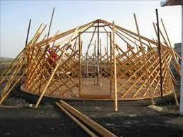 Tent Building Genghis Khan Mongolian Tent Building Process Youtube