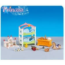 chambre playmobil playmobil 6303 chambre d enfant au château nouveaute 2013 amazon fr