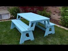 folding picnic table plans diy pdf diy bench picnic table combo