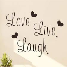 live laugh love zooyoo cute live laugh love wall decal bedroom decor sunny