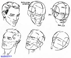 sketch a face step by step step step human anatomy drawings for