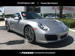 grey porsche 911 new porsche 911 at porsche west broward serving south florida